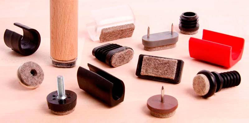 Möbelgleiter Auswahl fuer Holzstühle